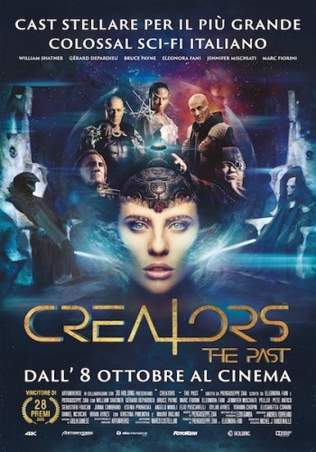 La locandina italiana del film CREATORS - THE PAST