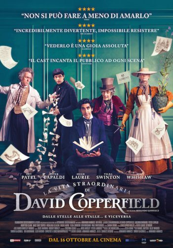 La vita straordinaria di David Copperfield poster