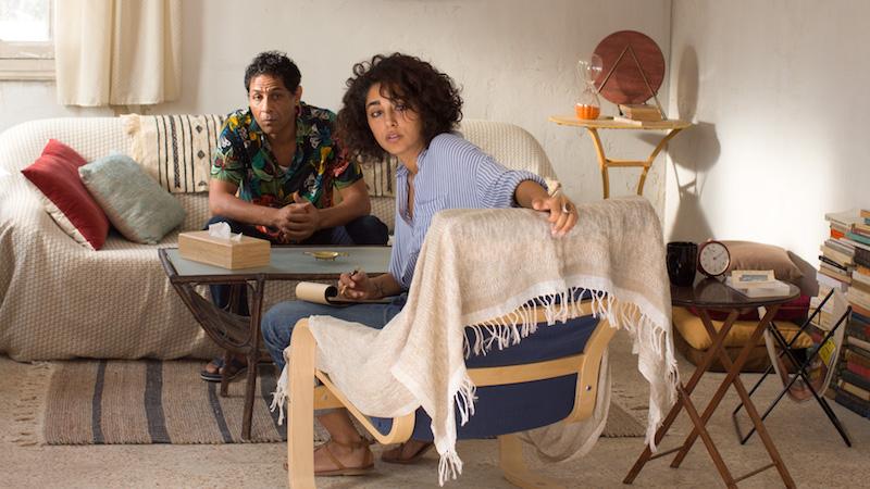 Golshifteh Farahani in una scena del film UN DIVANO A TUNISI - Photo Courtesy: Bim Distribuzione.