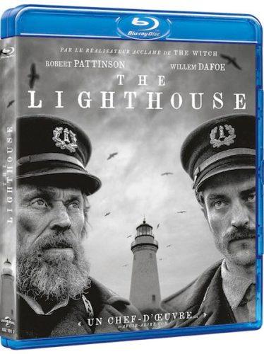 la cover del blu ray del film The Lighthouse