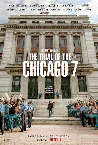 Il processo ai Chicago 7 poster Netflix