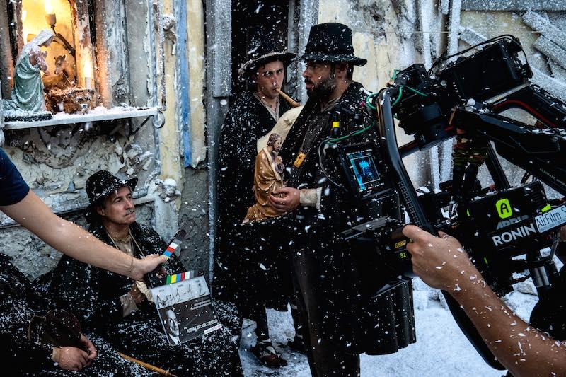 film Natale in casa Cupiello - Edoardo De Angelis - Backstage © Gianni Fiorito
