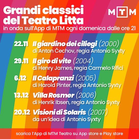 i grandi classici del teatro Litta