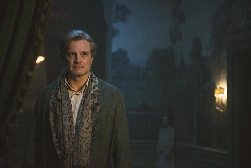 Colin Firth in una scena del film IL GIARDINO SEGRETO. Photo: courtesy of Lucky Red