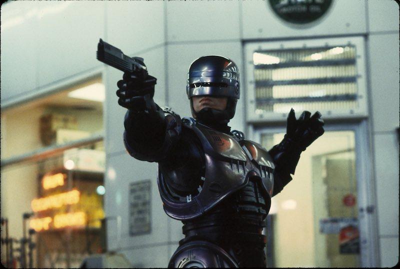 Sky Cinema Collection - Police Stories - Robocop. Photo: press office