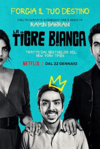 La locandina italiana del film LA TIGRE BIANCA