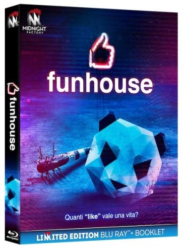 cover blu ray FUNHOUSE. Ph Koch Media