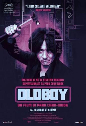 La nuova locandina italiana di OLDBOY.