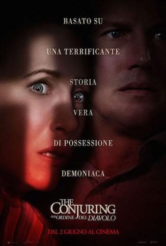 The Conjuring 3 Per ordine del diavolo poster ita film