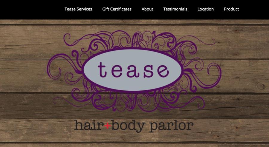 teasehairparlor.com