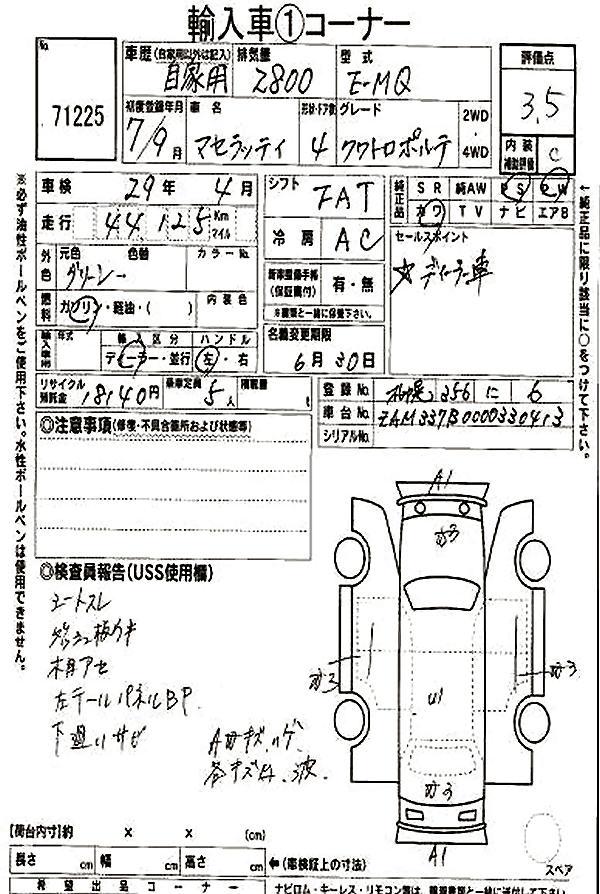 Maserati Quattroporte IV Register (1994-98)