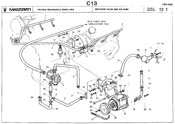 Service manual [Vacuum System Install 1985 Maserati