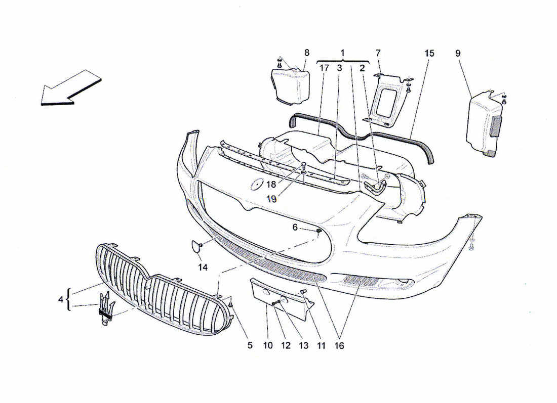 Service manual [Diagram Of Removing A Grill From A 2009