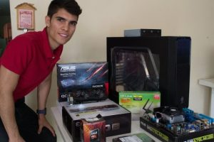 Walter con su PC Gamer