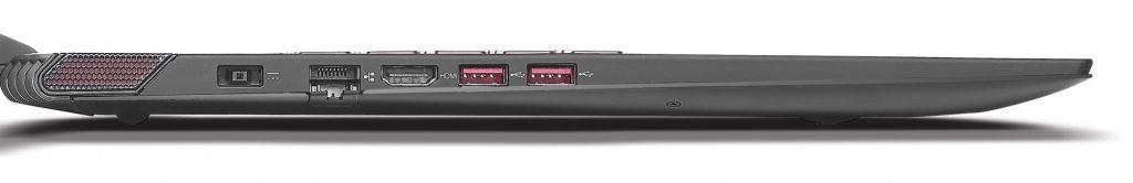 Panel de puertos Lenovo Y70
