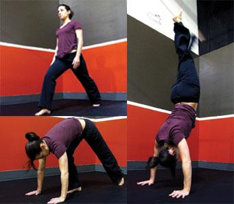 handstand kickup