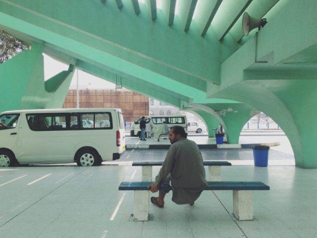 Mashallah News Abu Dhabi bus terminal 9