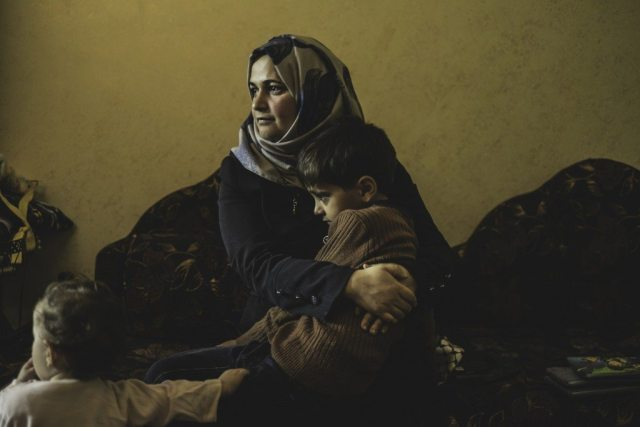 Kifah was pregnant with her first child when around 4 am she started feeling birth contractions. It was a cold night with temperatures at around -3 degrees Celsius. In order to reach a hospital, Kifah and her husband had to cross a checkpoint, but were denied permission to pass. As her husband tried to convince the soldiers that his wife needed to reach the hospital urgently, Kifah fell to the ground and started giving birth. As soon as the baby's head started coming out, the soldiers allowed them to cross to the other side where an ambulance was waiting. Kifah gave birth to her son at the checkpoint, causing him irreparable brain damage.