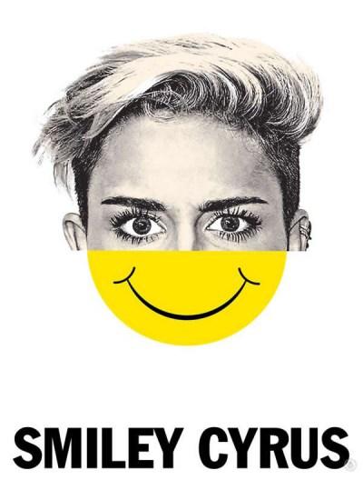 18 Celebrity Mash-ups - Smiley Cyrus
