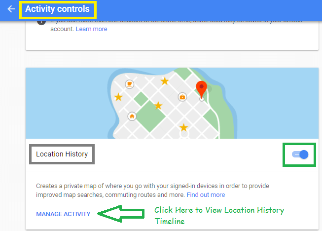 How To View Google Map Location History IPhone Android Desktop - Google map location history