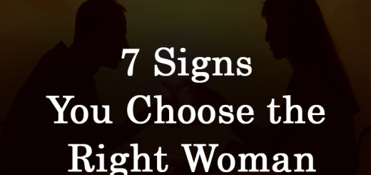 Choose the Right Woman