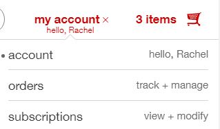 How to cancel a Target subscription order