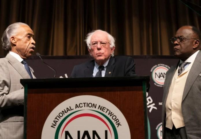Al Sharpton,Bernie Sanders,Franklyn Richardson