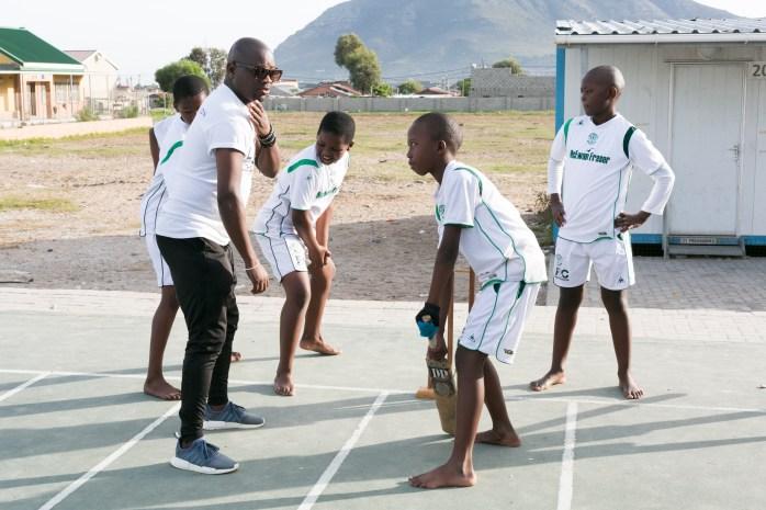 A. cricket coaching - Nceba
