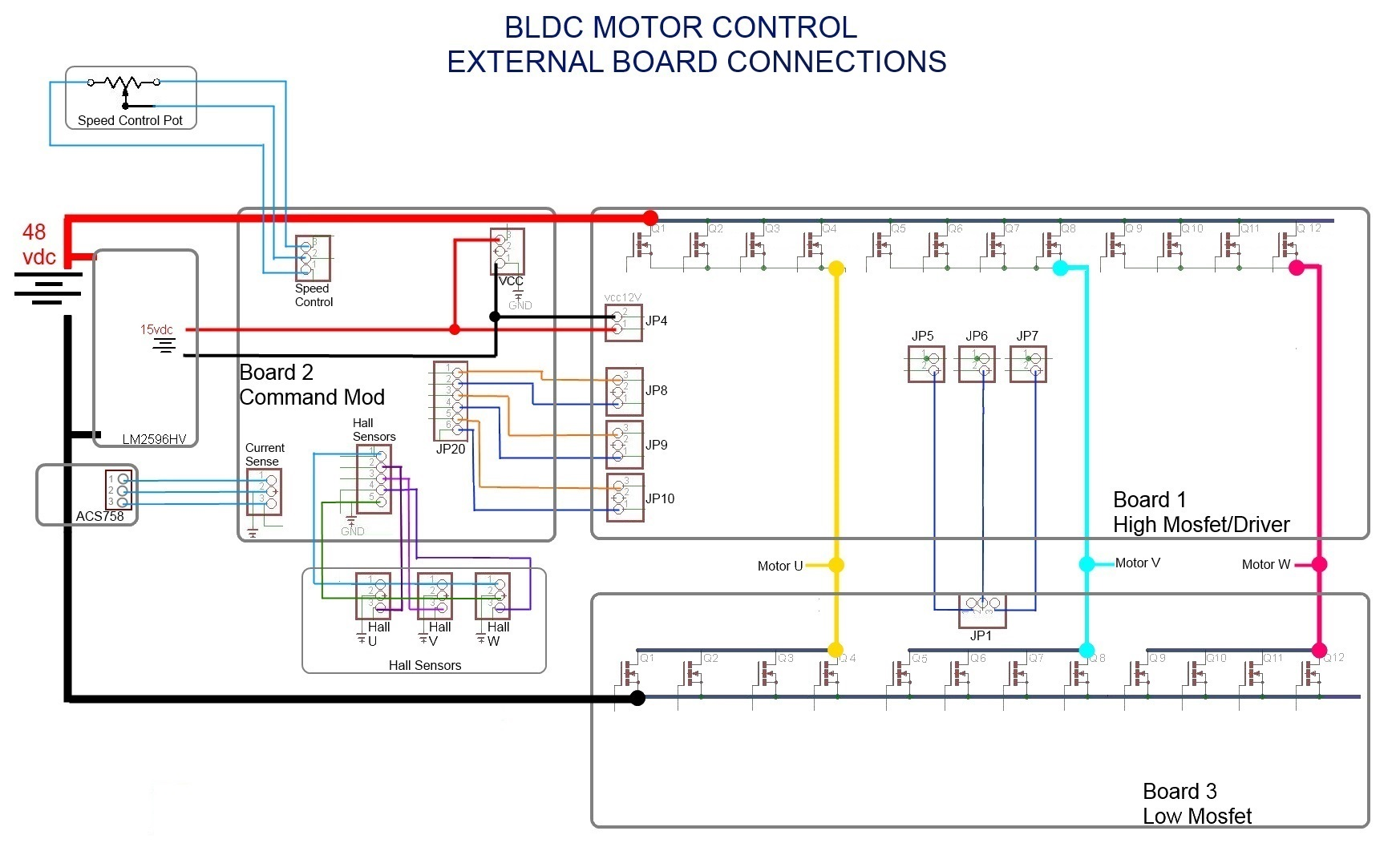 ac motor speed controller circuit diagram single pole dimmer switch wiring brushless schematic mc33035  motors