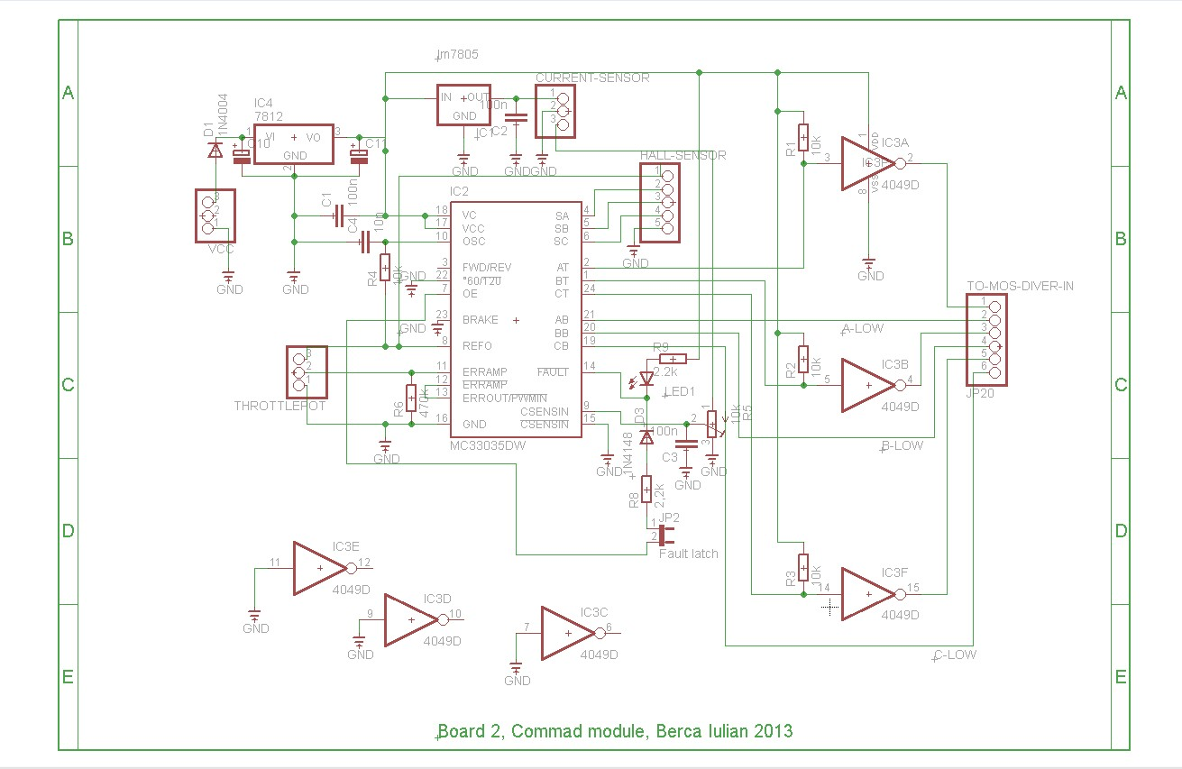 hight resolution of brushless controller schematic mc33025