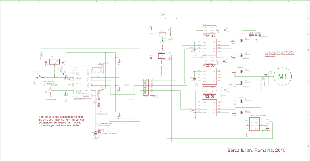 Updated Brushless controller schematic 2015 « Brushless