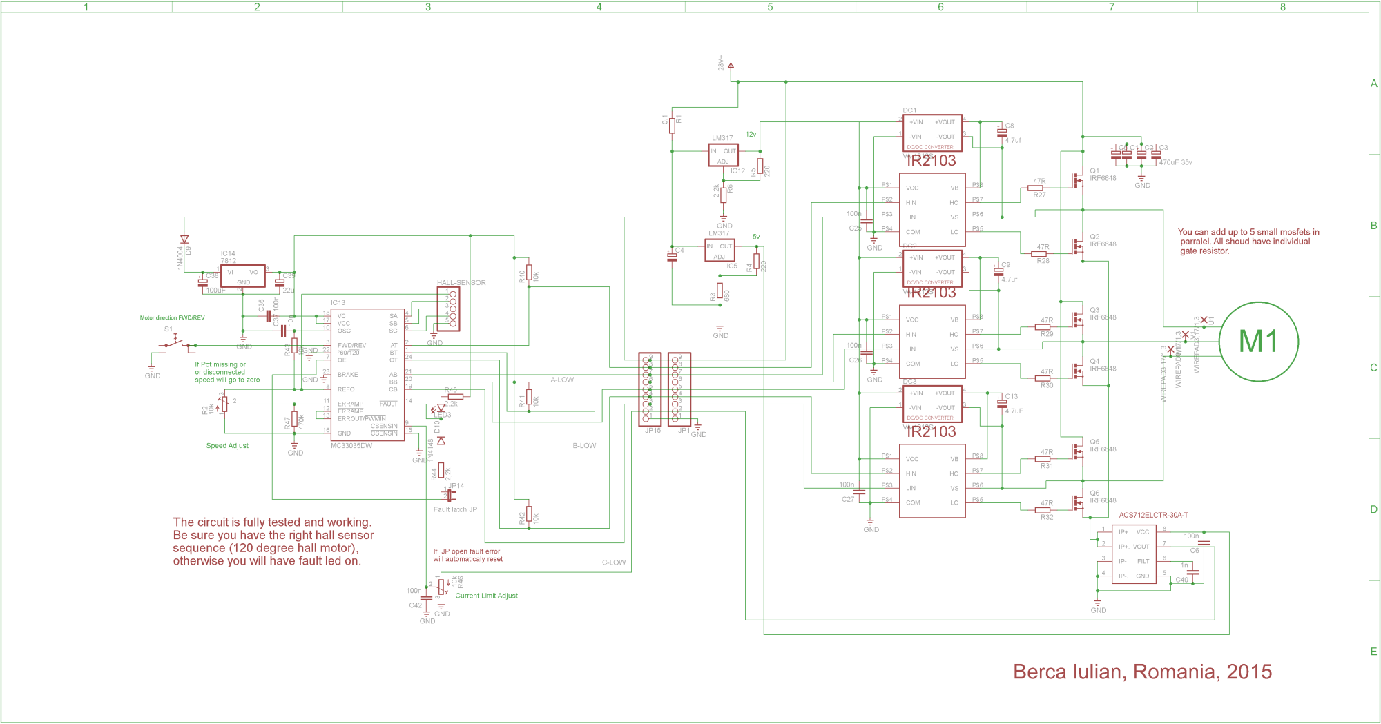 hight resolution of brushless controller schematic