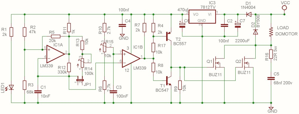 medium resolution of dc motor speed controller pwm 0 100 overcurrent protection secondpwm schematic 9