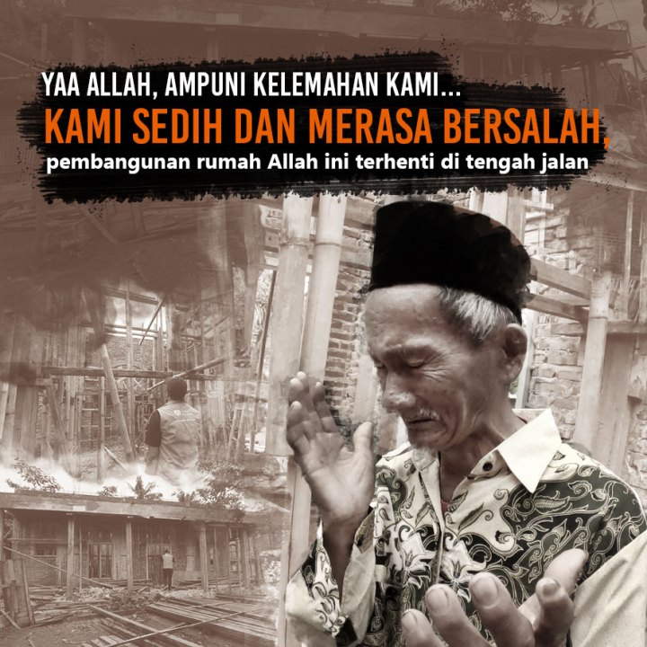 Bantu Lanjutkan Pembangunan Masjid Bersejarah di Padaherang