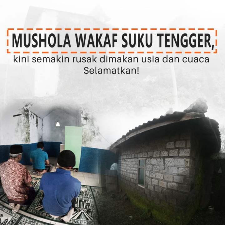 Wujudkan Masjid Impian Warga Perbukitan Dekat Bromo