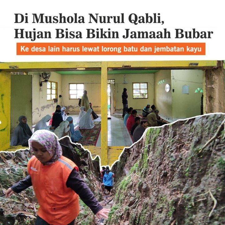 Bantu Muslim Kampung Bulu Are Miliki Masjid Impian