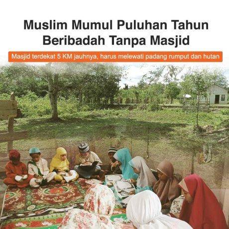 Hadiah Masjid untuk Muslim Mumul di Pulau Seram