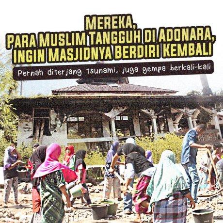 Bangun Masjid untuk Muslim Tangguh di Adonara, NTT