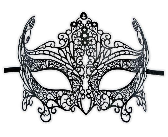 Antifaz en filigrana 'Davina' : Mask-Shop.com