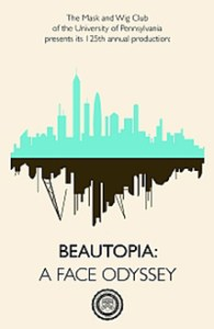 2013 Beautopia - A Face Odyssey Poster