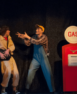 A photo from the 2015 Annual Production, A Comedy of Terrors.