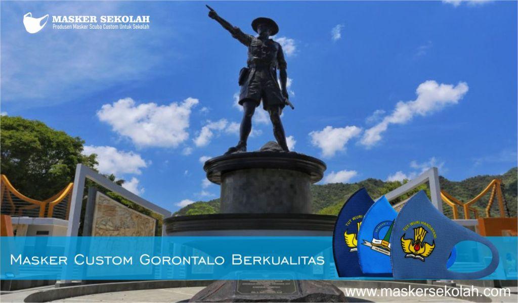 masker custom gorontalo