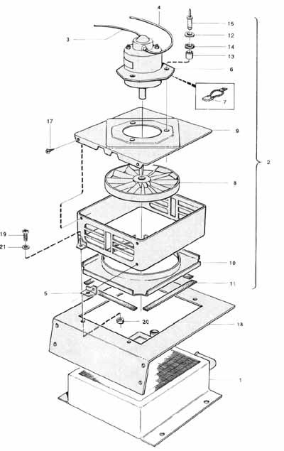 Volvo BM 650/700 Värmefläkt • Maskinisten