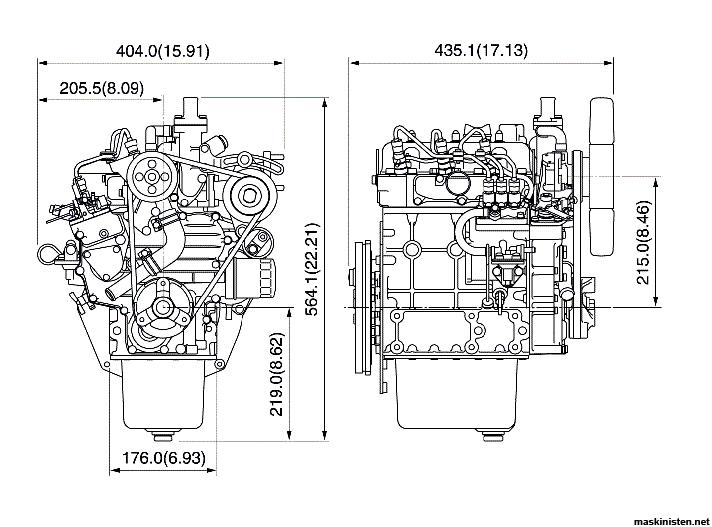 Kubota D722-E VS Rotax 503 • Maskinisten