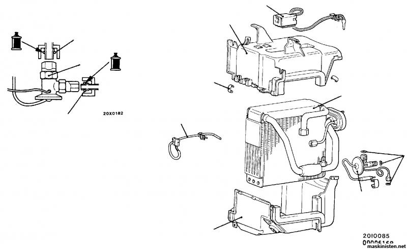 Havererad magnetkoppling AC-kompressor, sen mera strul med