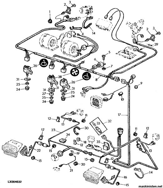 John Deere hyttfläktproblem • Maskinisten