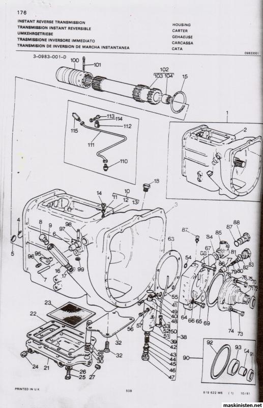 MF 50B driver inte framåt • Maskinisten
