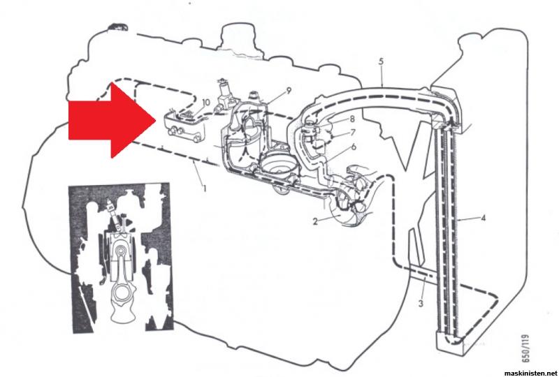 På jakt efter reservdelar till Scania-Vabis D7 • Maskinisten