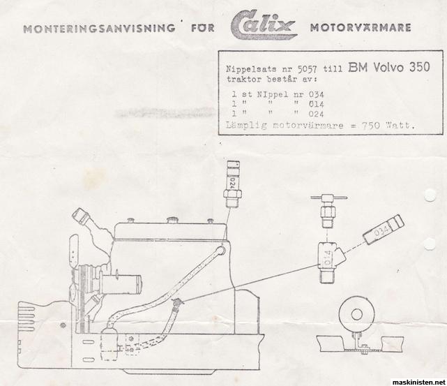 Volvo bm 350 låg motortemp • Maskinisten