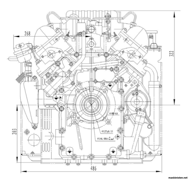 Översyn av Ruggerini diesel vilken arbetsordning